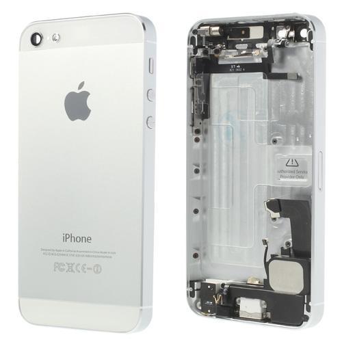 apple-iphone-5-komplet-bagplade-hvid-iphone-5-reservedele-bagplader
