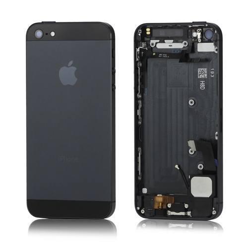 apple-iphone-5-komplet-bagplade-sort-iphone-5-reservedele-bagplader