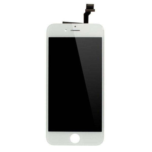 apple-iphone-6-komplet-glaslcd---oem-hvid-iphone-6-reservedele-skaerme-mobil-og-tablet