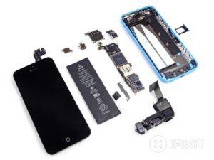 iPhone 5C Reservedele