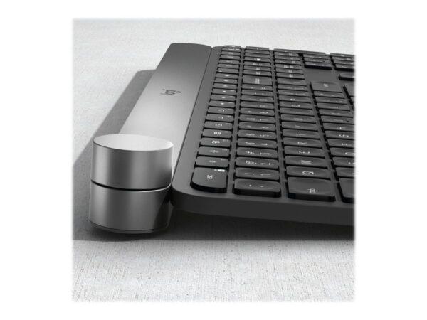 Logitech Craft Advanced Creative Input Dial Tastatur Ja Trådløs Pan nordisk EAN 5099206072862