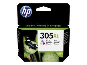 HP 305XL Farve (cyan, magenta, gul) 200 sider