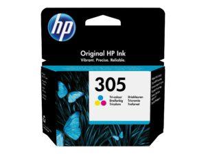 HP 305 Farve (cyan, magenta, gul) 100 sider