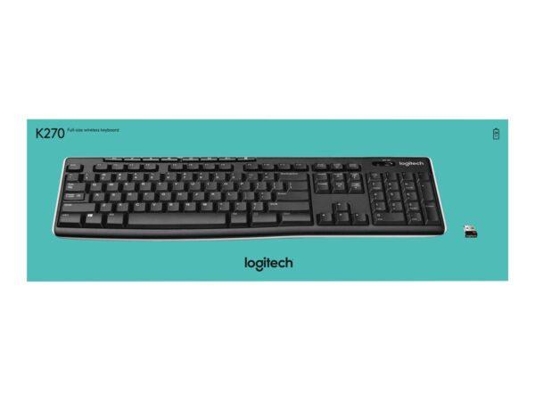 Logitech Wireless Keyboard K270 - Nordic EAN 5099206032828