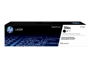 HP 106A Sort 1000 sider