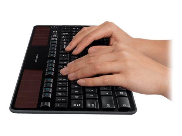 Logitech Wireless Solar K750 Tastatur Trådløs Nordisk EAN 5099206025660