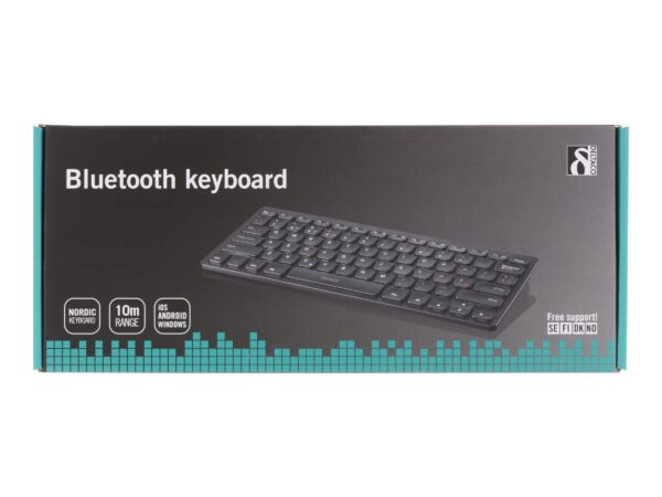 DELTACO TB-631 mini Tastatur Trådløs Nordisk EAN 7333048001061