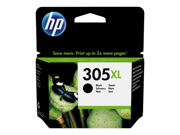 HP 305XL Pigmenteret sort 240 sider EAN 0193905429288